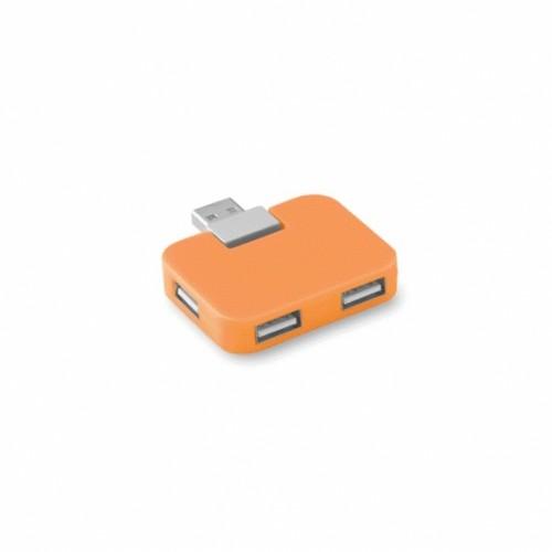 USB-hub med reklame logo tryk