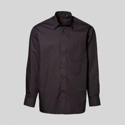 Business skjorte med tryk og broderi