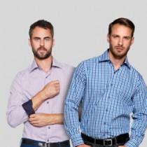 Skjorter med kontrast og logo - mest solgte