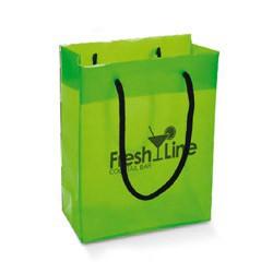 Poser og tasker med reklame tryk
