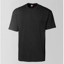 T-shirts med lomme og logo