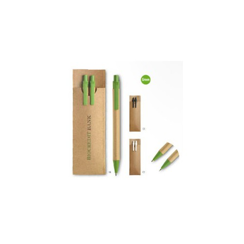 Miljøvenlige kuglepenne med logo tryk