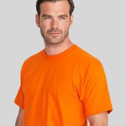Alm. single jersey & US basic t-shirts med tryk og broderi
