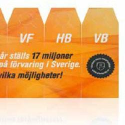 Dækmarkør med logo tryk