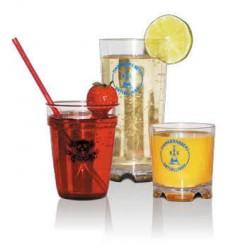 Glas med logo tryk