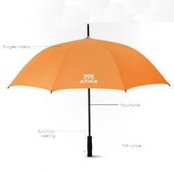 Paraplyer med reklame logo tryk
