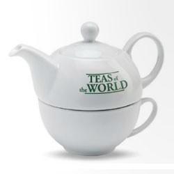 Te sæt med reklame logo