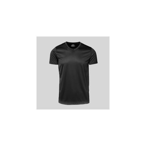 Active t-shirt med tryk og broderi