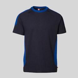 Pro wear t-shirt med tryk og broderi