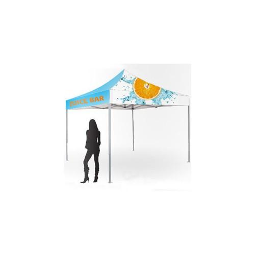 Telte og pavilloner med logo tryk