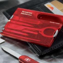 Victorinox SwissCard Classic med logo tryk