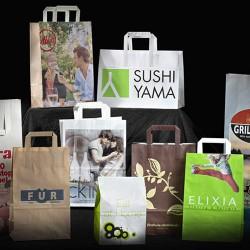 Plastikposer med reklame logo tryk