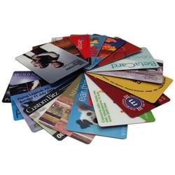 Kreditkort med logo tryk
