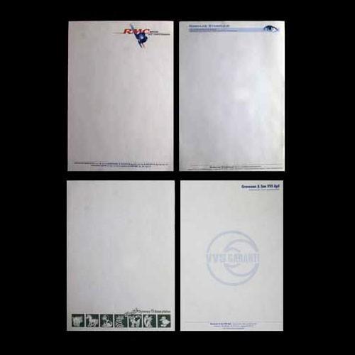 Brevpapir med logo tryk