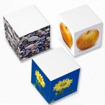 Kubusblokke og bordblokke med logo tryk