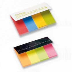 Pagemarkers med logo tryk