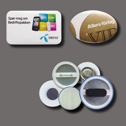 Campaign Buttons - Kampagneknapper