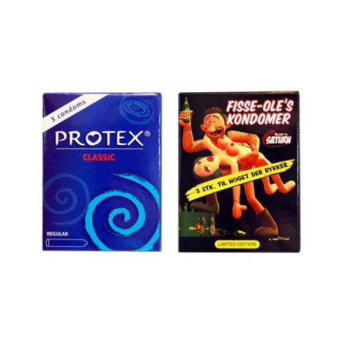 Reklame kondomer med tryk