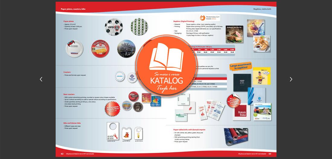 Drypfanger med logo tryk kataloget