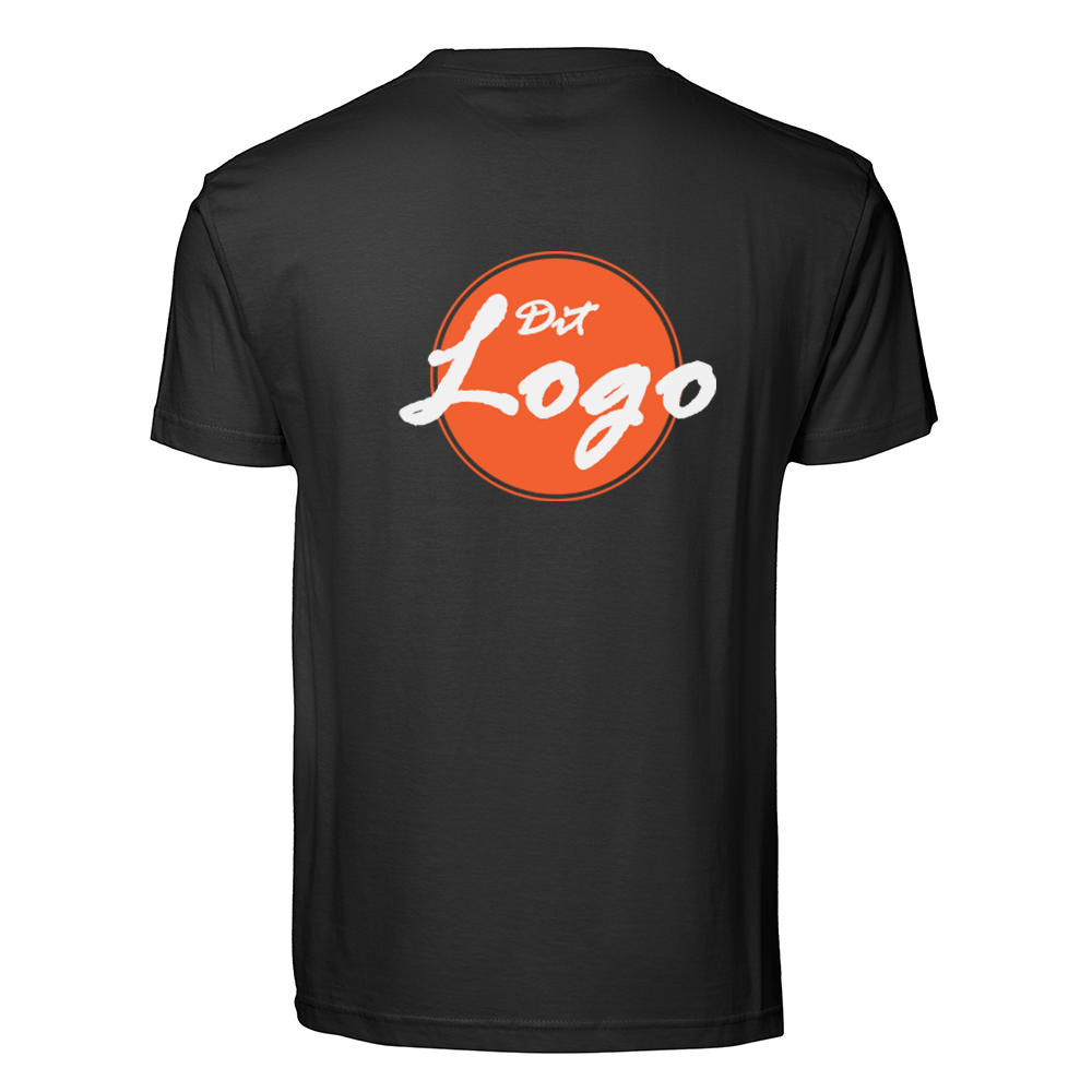 T-SHIRTS MED LOGO TRYK