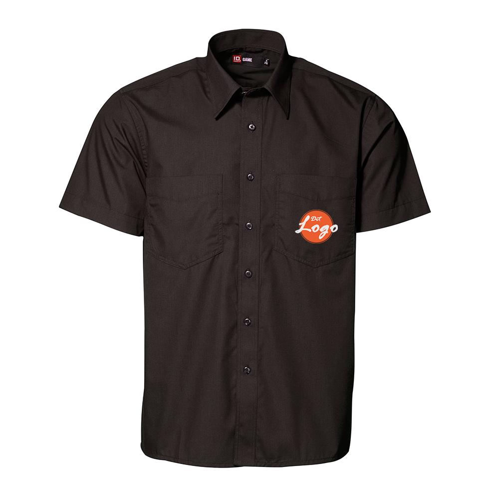 Skjorte med logo