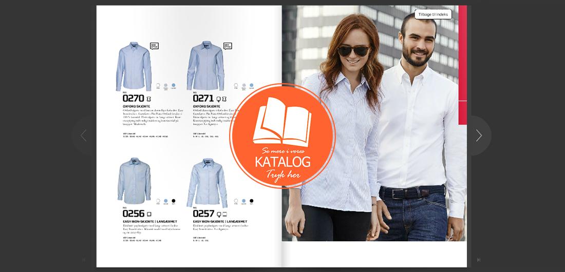 Skjorter med logo katalog