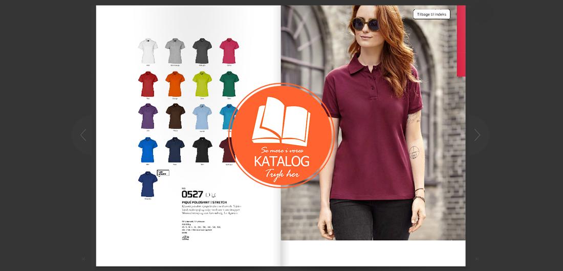 Pique Polosweatshirt katalog