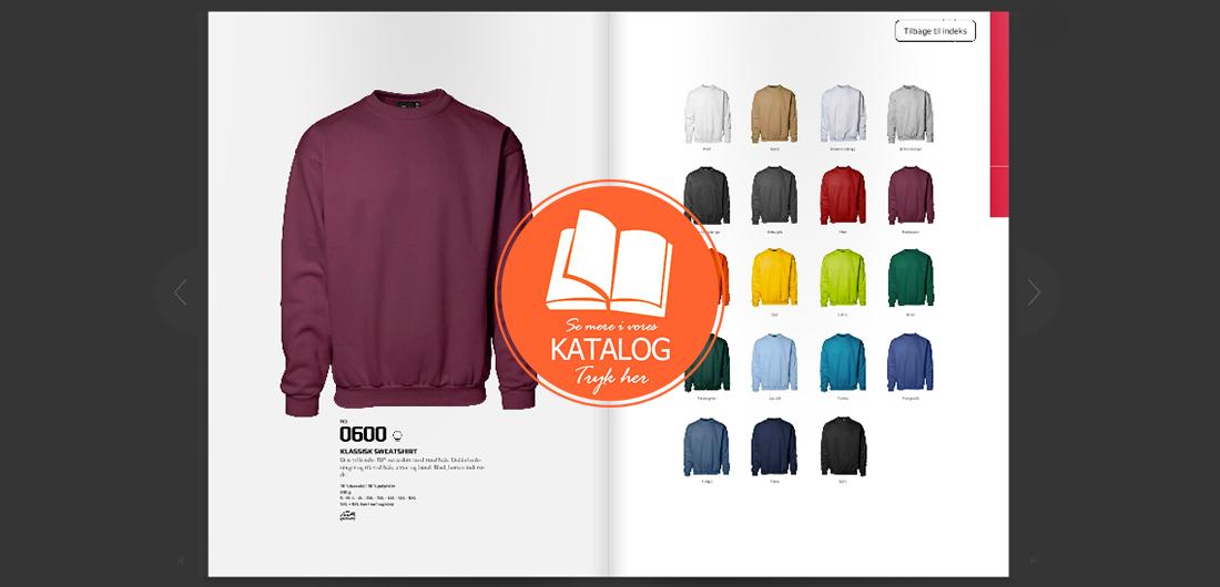 Sweatshirt katalog