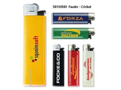 Cricket lighter med reklame logo tryk