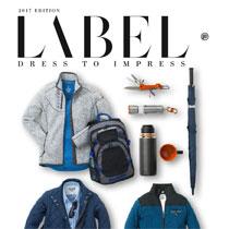 Label tøj med reklame tryk
